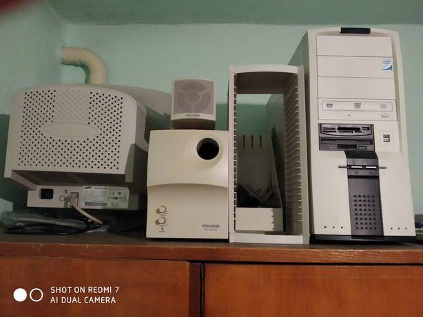 Продам : колонки, сканер, телевизор, все работает.