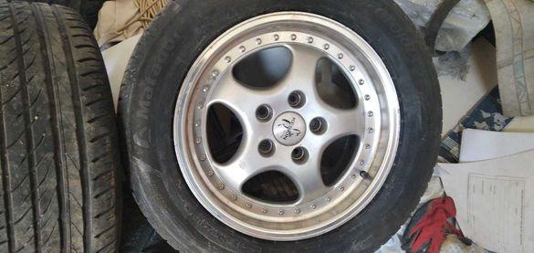 Летни гуми 255/55 R18 - 4 бр. с алуминиеви джанти 18 цола