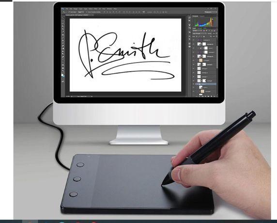 Tableta grafica Huion 420 pentru cursurile online + mănușă cadou
