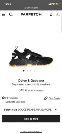 Adidasi Dolce & Gabbana Daymaster stretch-knit sneakers