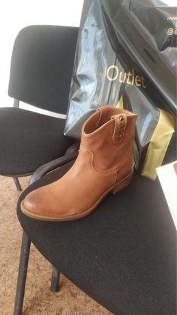 Обувь кожанная осень испания