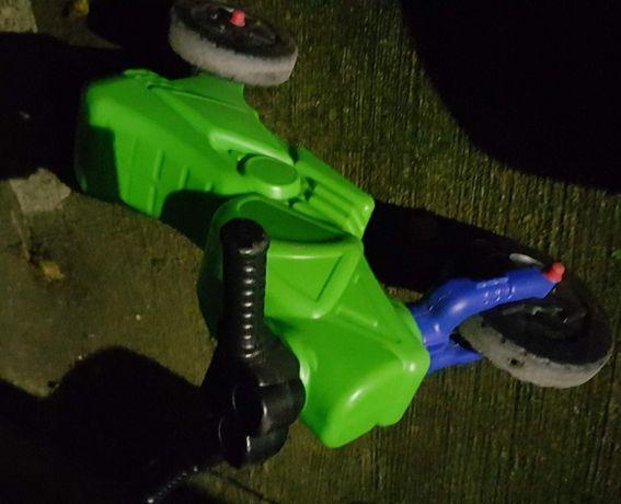 Motocicleta fara pedale copii 1-4 ani putin folos perfect funct. verde