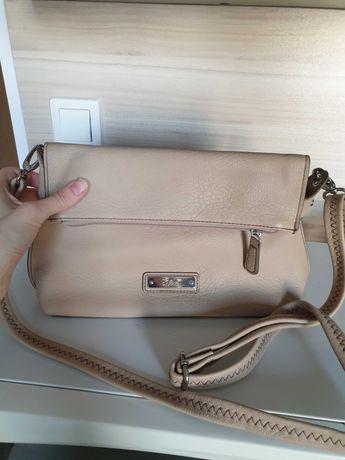 Дамска чанта s.Oliver бежов цвят