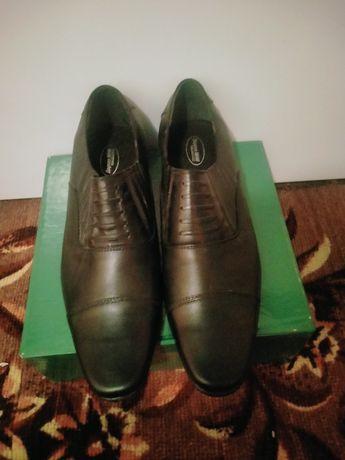 Мужская обувь коженный