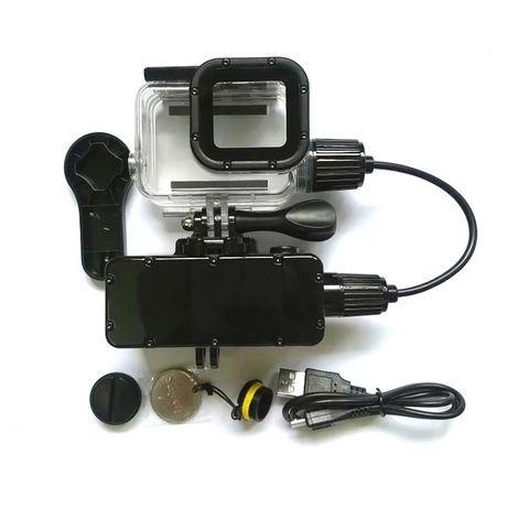 Водонепроницаемый аккумулятор для экшн камеры с аквабоксом