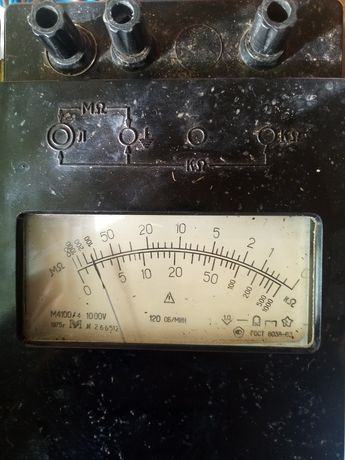 Мегаомметр 1000в