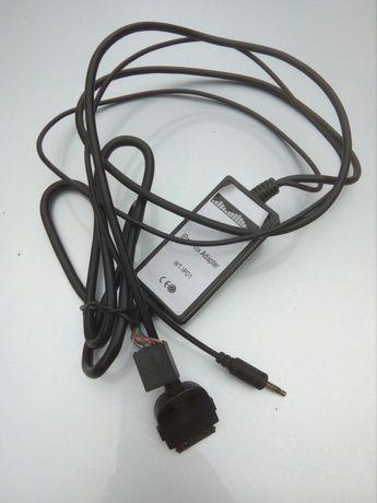 Interfata adaptoare aux / usb pentru Volkswagen, Audi, Skoda, Seat