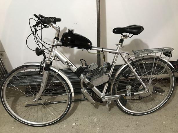 Okazie! Bicicleta KTM aluminiu cu motor