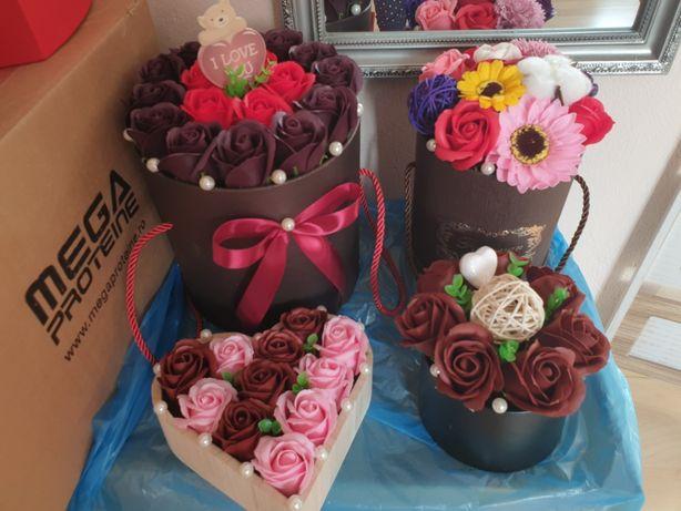 Aranjamente florale din sapun
