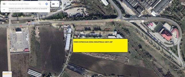 Vand Teren Intravilan Zona Industriala 18271 mp