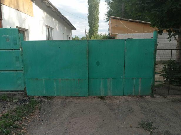 Ворота из советского металла б/у