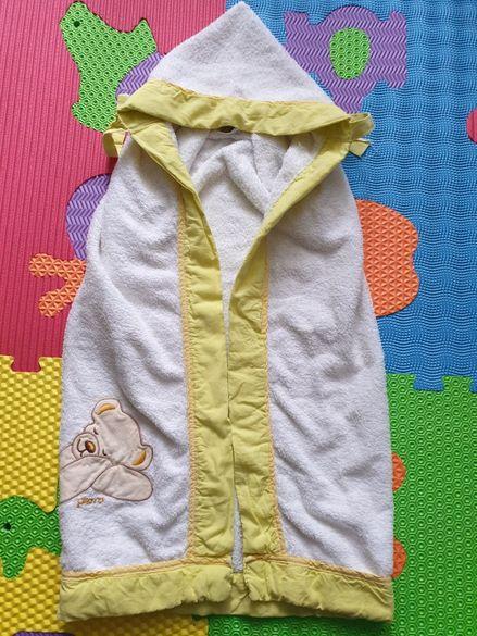 Бебешка хавлия - 100 % памук