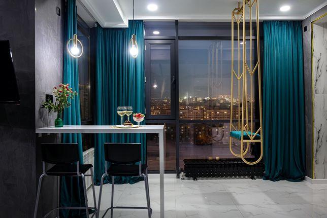 Новая люкс квартира с панорамными окнами и видом на горы