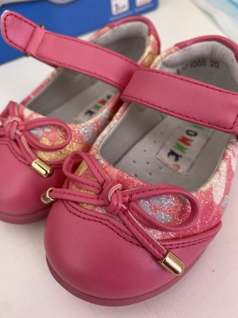 Детские туфли совенок
