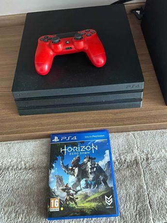 PS4 PRO 1TB + Horizon Zero Dawn + 1 controller