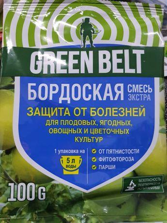 Средство от болезней растений Бордоская смесь Green Belt 100 г