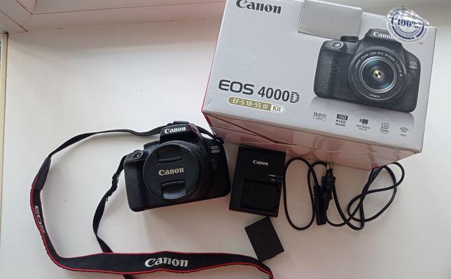 Продам Canon  EOS 4000D  EF-S 18-55     Kit