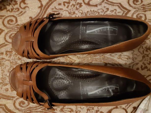 Sandale ortoopedice piele Medicus