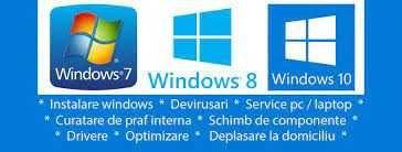 Instalare Windows Service calculatoare Reparatii laptopuri Routere wfi