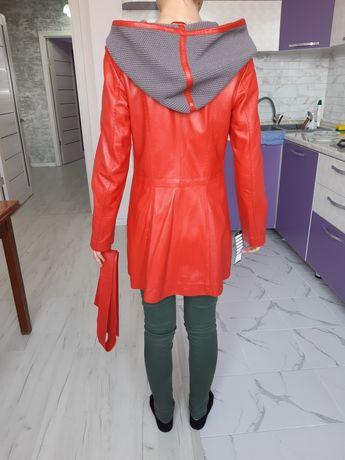 Натуральные кожаные женские куртки (Турция)