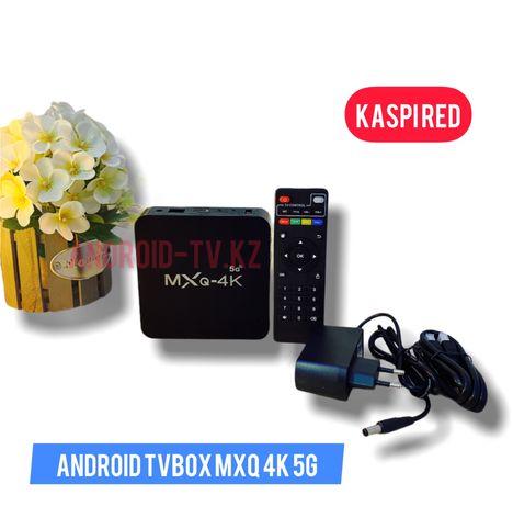 MXQ 4K 5G Новый смарт тв бокс медиаплеер