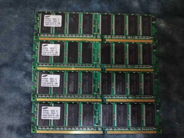 Модули памяти DDR1 256MB