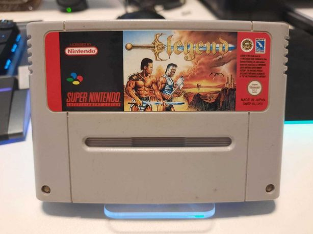 Joc Legend, original, retro, pentru Consola Super Nintendo, Snes