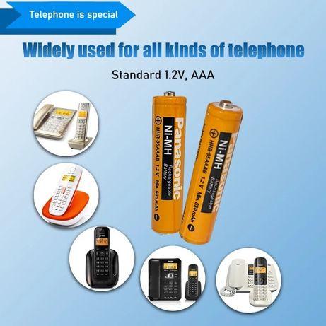 Батарейки AAA, rechargheable 650,850mah