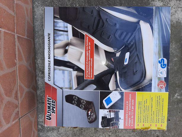 Husa noua auto ptr scaun cu masaj și încălzire 12v made in italia