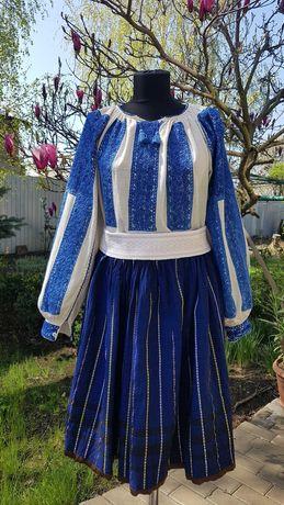 Costum popular (ie/camasa valnic/fota/catrinta/opreg/zavelca)