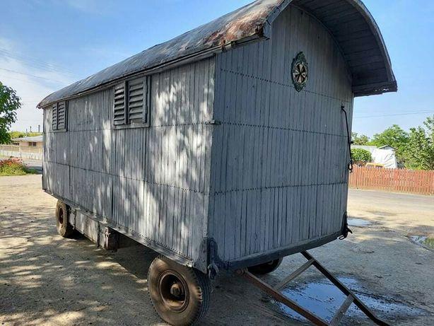 Vagon/remorca/platforma baloti/pavilion apicol
