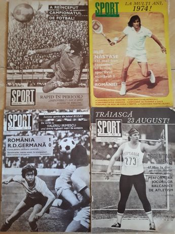 Vand colecție reviste Sport