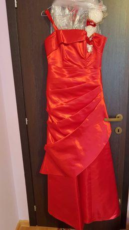 Rochie ocazie rosie Sadrini style size 44