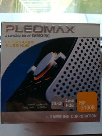 Pleomax PC Speaker & 4 USB hub