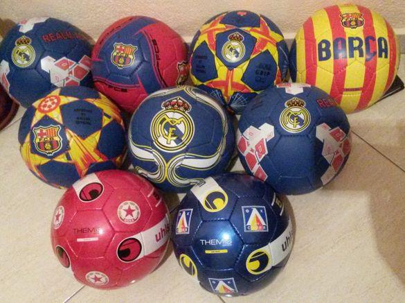 Футболни Топки Реал, Барселона, Цска, Левски, Челси, Милан