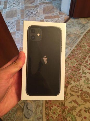 IPhone 11 black 64gb запечатанный новый