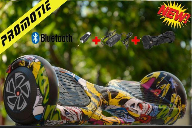 Hoverboard Apa Foc cu Bloototh