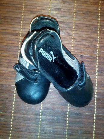 Детски обувки ПУМА,естествена кожа22номер.