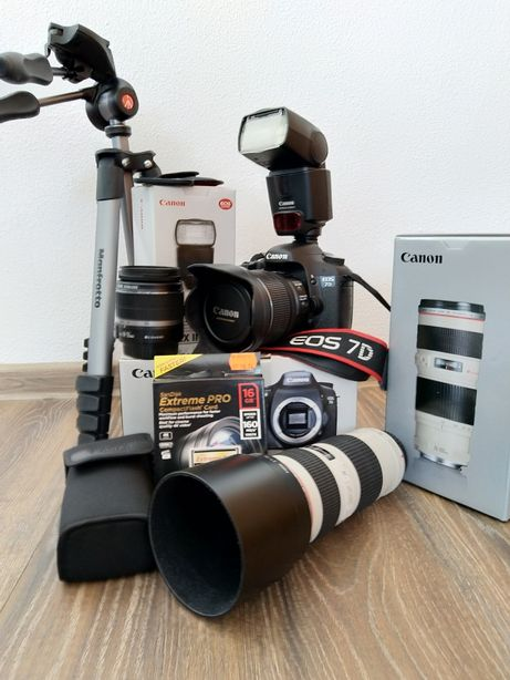 Kit profesional foto Canon 7D