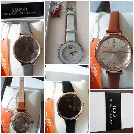 Нови, елегантни дамски часовници с висококачествена кожена каишка
