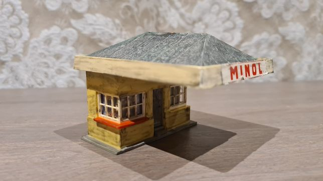 Benzinarie diorama H0 HO