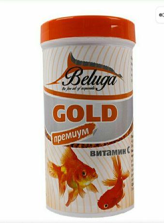 Премиум класса корм для золотых рыбок