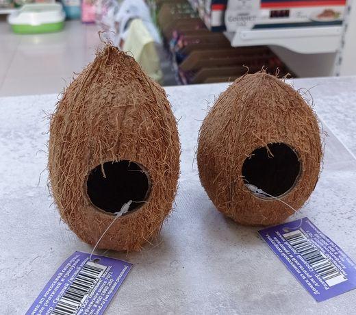 Кокосовый домик для грызуна