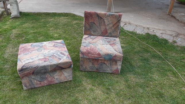 Кресло пуфик кресло