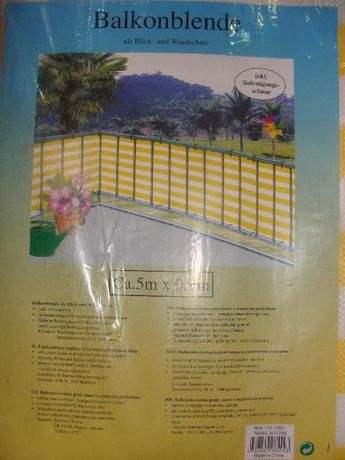 Vand masca balcon made in Germany