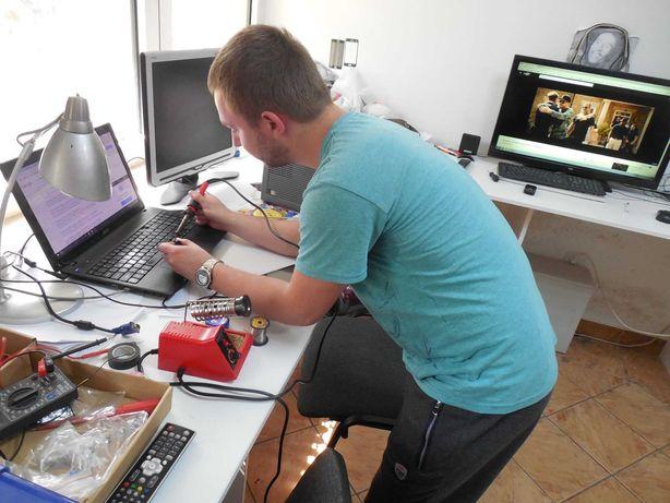 Ремонт компьютеров и Ноутбуков починка видеокарт процессора Клавиатуры