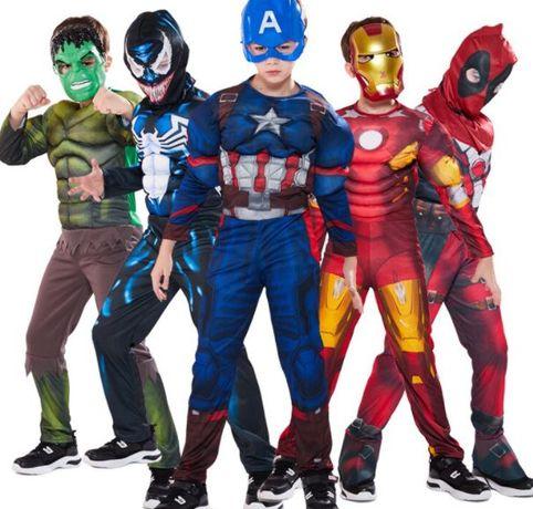 Свръхкачество костюми с мускули на Хълк,Капитан Америка,Железният Чове