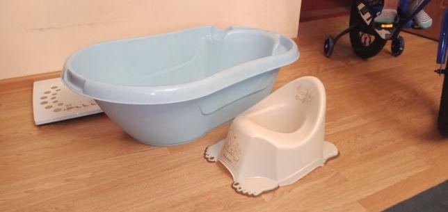 Детская ванночка и горшок