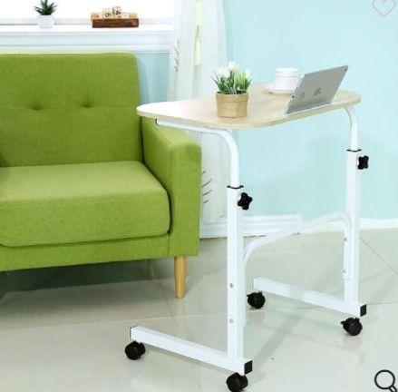 Помощна масичка на колела, маса за лаптоп, подвижно бюро
