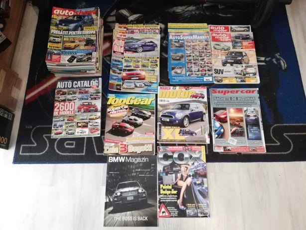 Colectie reviste auto anii 2007-2009 amestec AutoShow AutoBild diverse